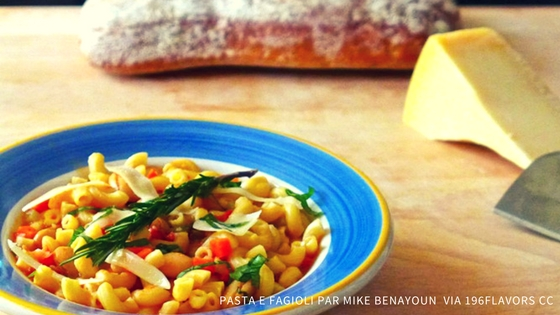 La soupe Pasta e Fagioli efface les barrières sociales, cultik, mondoblog
